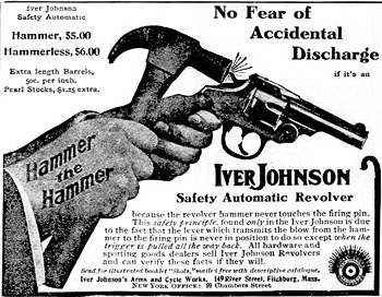 Revolver med s�kring - New York Tribune, 12 november 1905