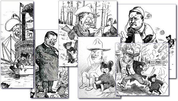 Teddy Roosevelt - cub-cartoons